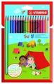 STABILO Цветные карандаши Trio 18 цветов (1960/18-01)