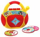 Интерактивная развивающая игрушка Азбукварик CD-плеер. Песенки-чудесенки