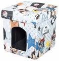 Будка для кошек DreamBag складная Бульдоги 37х37х40 см
