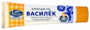 Крем для рук Сто рецептов красоты Василек