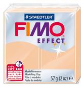 Полимерная глина FIMO Effect запекаемая персик (8020-405), 57 г