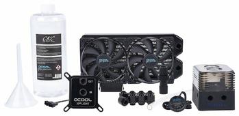 Кулер для процессора Alphacool Eissturm Gaming Copper 30 2x 120 mm
