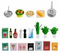 Набор продуктов с посудой Lundby Набор аксессуаров для домика LB_60508900