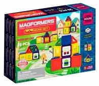 Магнитный конструктор Magformers Wow 705007 Дом
